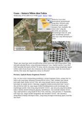 Gaza Antara Mitos dan Fakta.doc