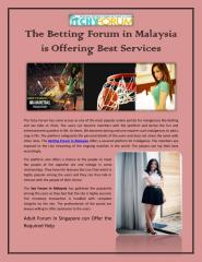 The Betting Forum in Malaysia is Offering Best Services.pdf
