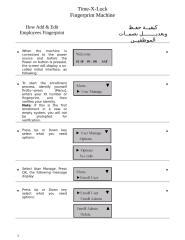 How Add & Edit Employees TimeXLock.doc
